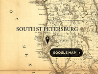 South St Petersburg Map