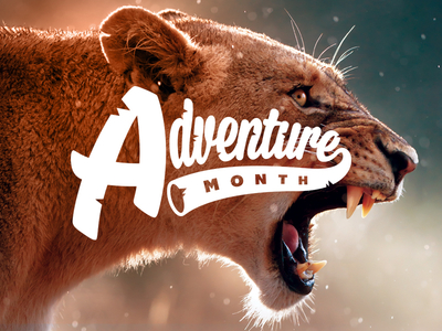 Adventure Month Logo