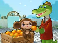 Tribute to Cheburashka