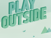 Go Play Outside Detail