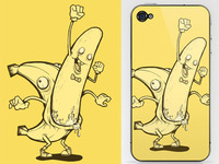 Bananaman iPhone Case