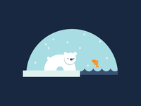 Web Icon — Polar Bear
