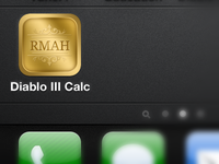 Diablo RMAH Icon - Gold