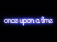 Once Upon A Time Neon Sign
