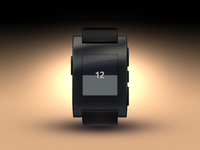 Pebble Watch - Watch face design 01