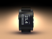 Pebble Watch - Watch face design 02