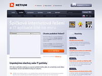 NETIUM website design