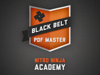 Ninja Academy Badge
