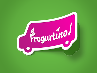 Frogurtino Delivery Icon