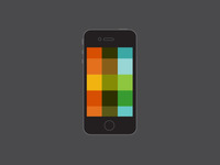 color pattern for iPhone