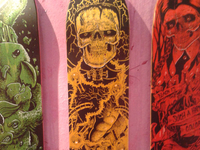 ISPO Munich 13 - -Handpainted Decks