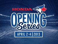 Blue Jays Opening Series 2013