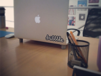Dribbble sticker by Sticker Mule