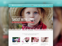 ShootWithLove.com Redesign - Photography Site