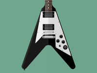 Gibson Flying V Kirk Hammett