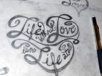 Life and Love rough