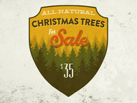 X-Mas Tree Sale Badge
