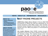 Rebuild of paone.ca