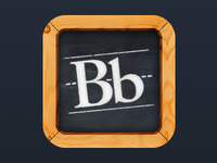 new Blackboard Mobile Learn App Icon