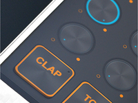 D-Maschine 2 iPad / iPhone UI Elements