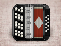 Accordion IOS icon ... баян ))