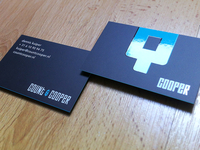Count & Cooper Business Cards