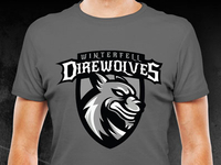 Winterfell Direwolves Tee
