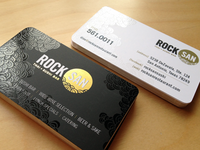 RockSan Business Cards