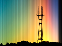 Sutro Tower Sunset