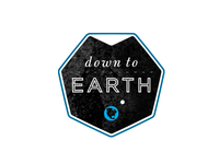 Down to Earth badge