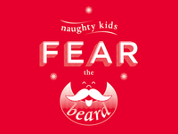 Naughty Kids Fear the Beard