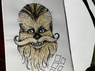 Let the wookiee grin