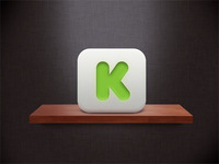 Kickstarter Iphone app icon