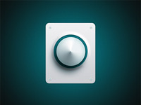 Sharp doorbell button freebie