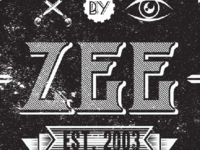 Zee Vintage Type Label