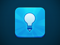 Lightbulb Pencil app icon