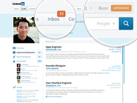LinkedIn Profile Redesign