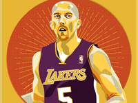 Steve Blake Lakers Voodoo Tarrot Cards