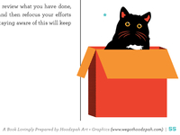 Hoodzpah Zine | Cat In A Box Illustration