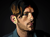Caleb Followill Graphic Illustration