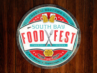 South Bay Food Fest Beer Coaster