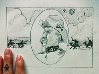 Teddy & The Rough Riders Illustration Thumbnail