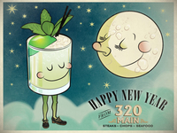 320 Main New Years illustration