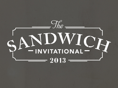 Sandwich Invitational Logo