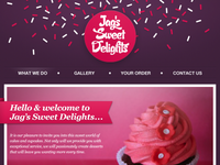 Jag's Sweet Delight Website {top}