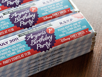 Chocolate Birthday Invite Wrap Final