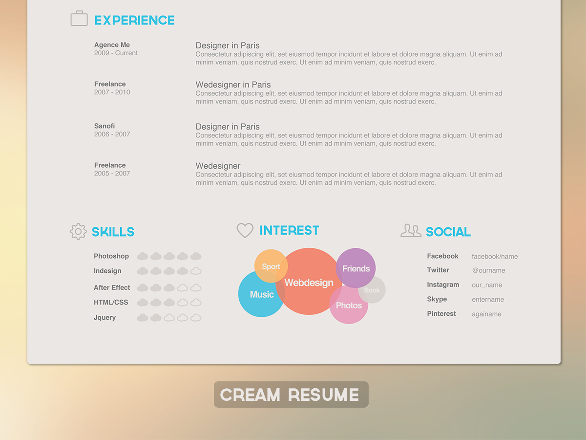 Clean-resume-hd