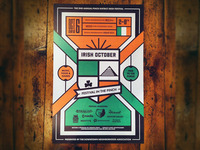 Irish October Poster