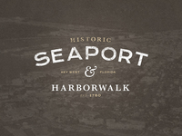 Historic Seaport & Harborwalk Logo