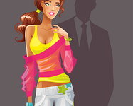 Illustration for AXE Effect India. Sporty girl.